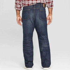 Goodfellow & Co Jeans - NEW Goodfellow Big & Tall Straight Fit Jeans, Dark